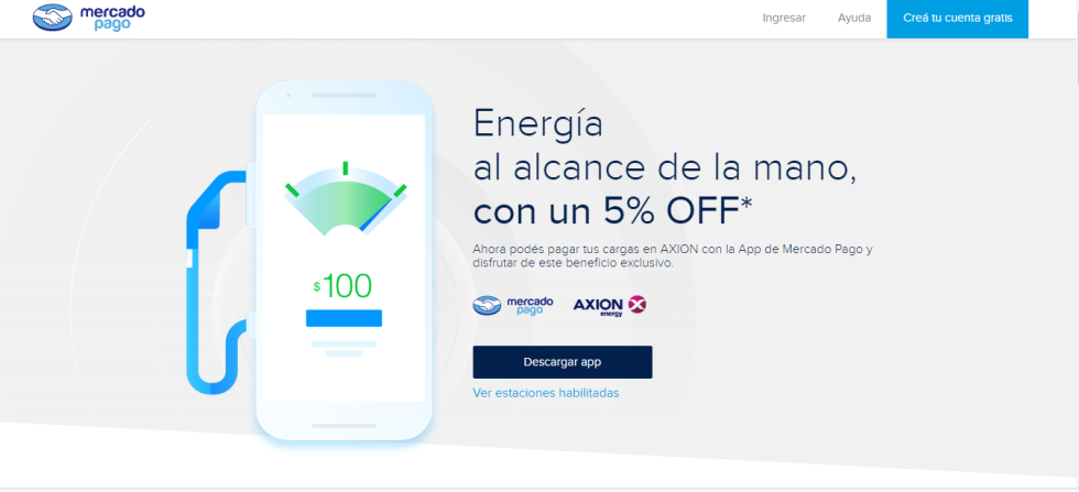 Axion App Mercado Pago