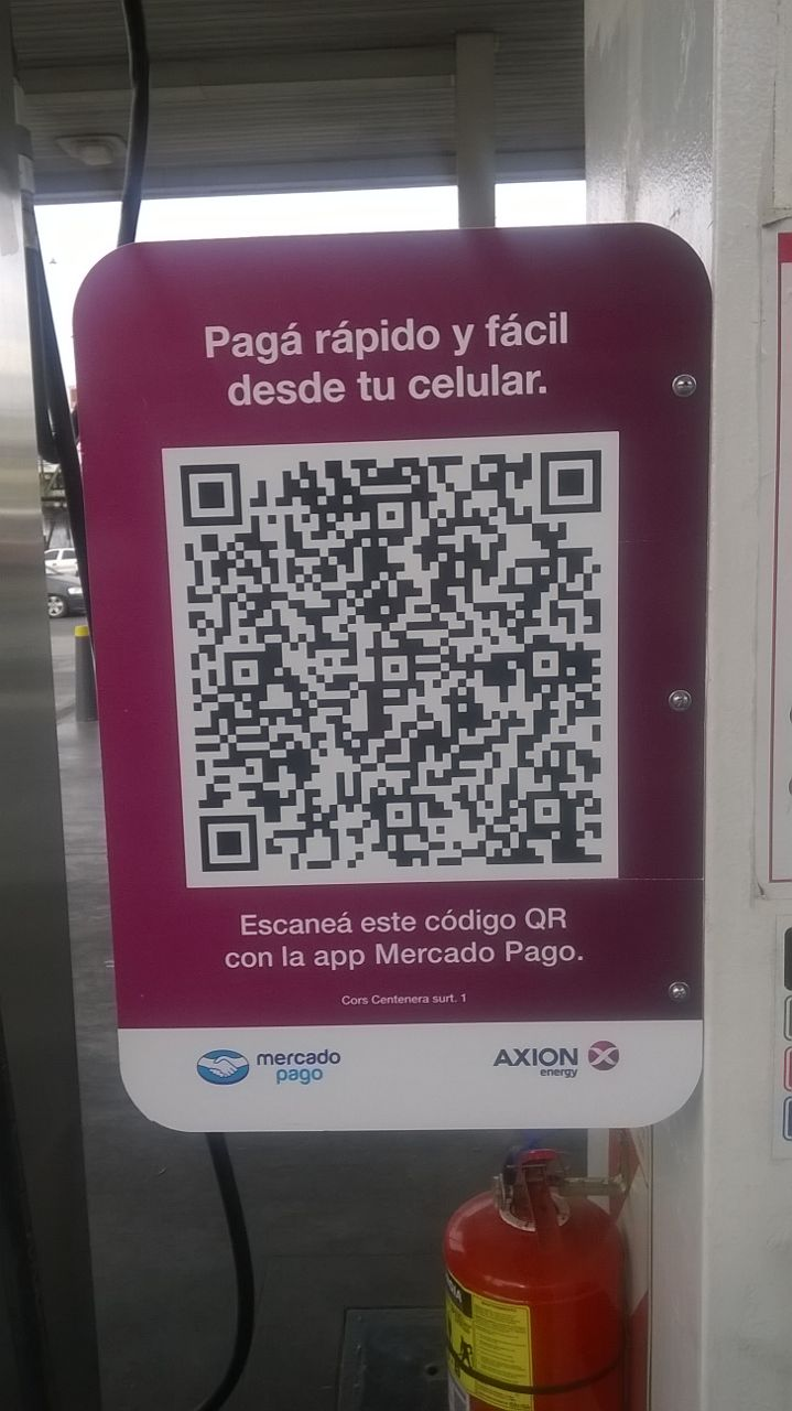 QR Exxon Mercado pago 1