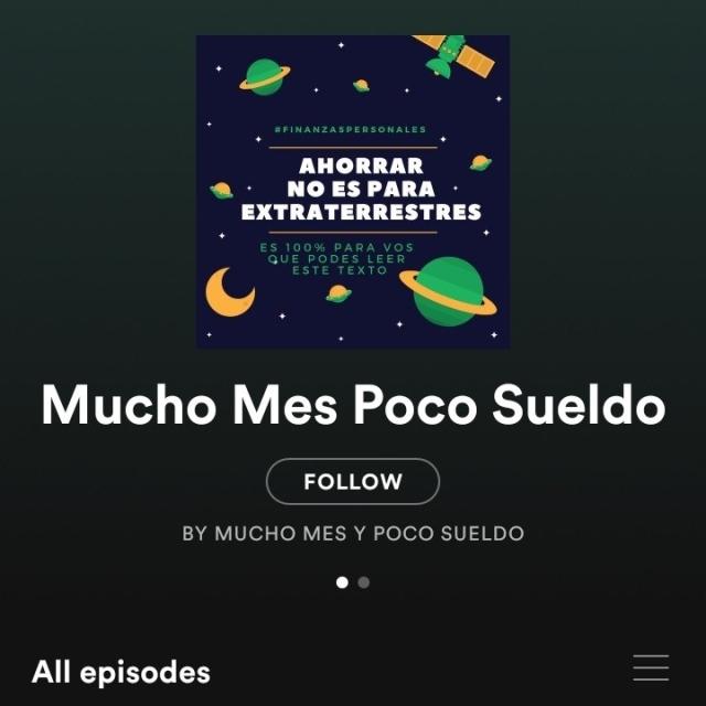 Mucho mes poco sueldo un podcast diferente